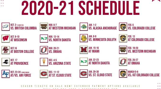DU, NCHC release schedules as temporary salve ahead of would-have-been Frozen Four