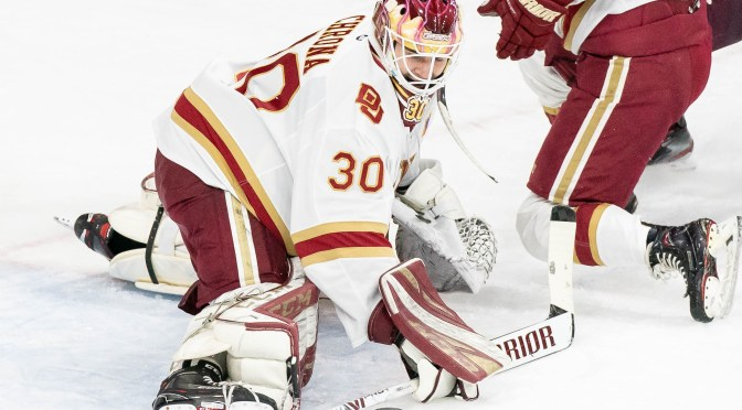 Pioneers Third Period Meltdown Enables UMD to Thump DU, 4-1