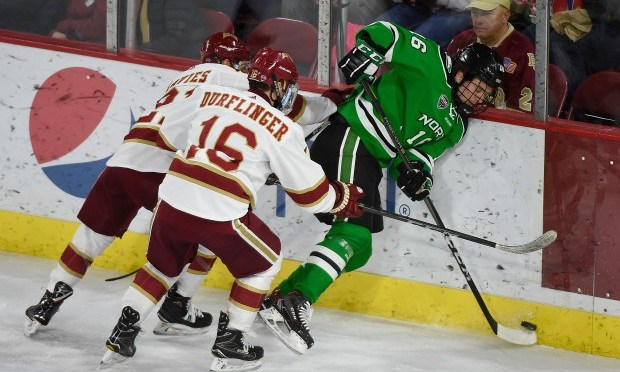 North Dakota Gets 5-1 Revenge Win over Pioneers