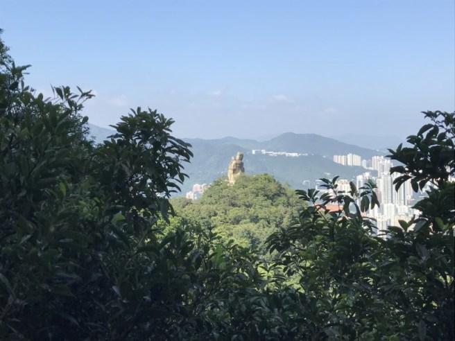 鷹巢山自然教育徑>筆架山>望夫石>紅梅谷燒烤場
