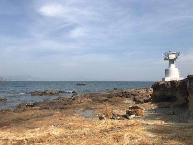 吉澳碼頭>東澳>高地頂>(吉澳漁民村>赤角頭>東澳灣 - 綑岸)>高棚頂>澳背塘>西澳>中間澳>吉澳碼頭