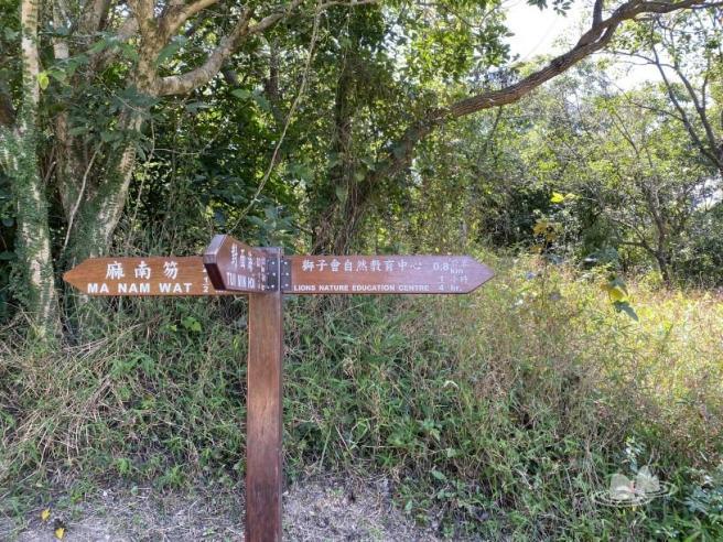 蕉坑>蕉坑自然教育徑>大岩口>白馬咀>麻南笏>對面海村>西貢市中心