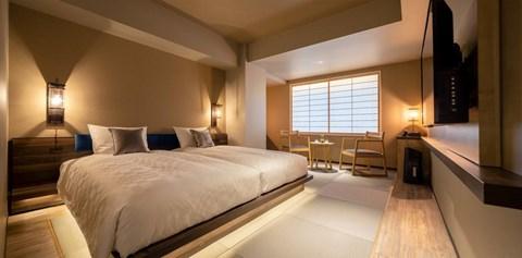 京都河原町三條Resol飯店高級雙床房