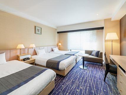 京都新阪急酒店標準三人房