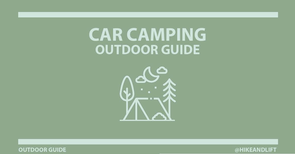 Car Camping Checklists