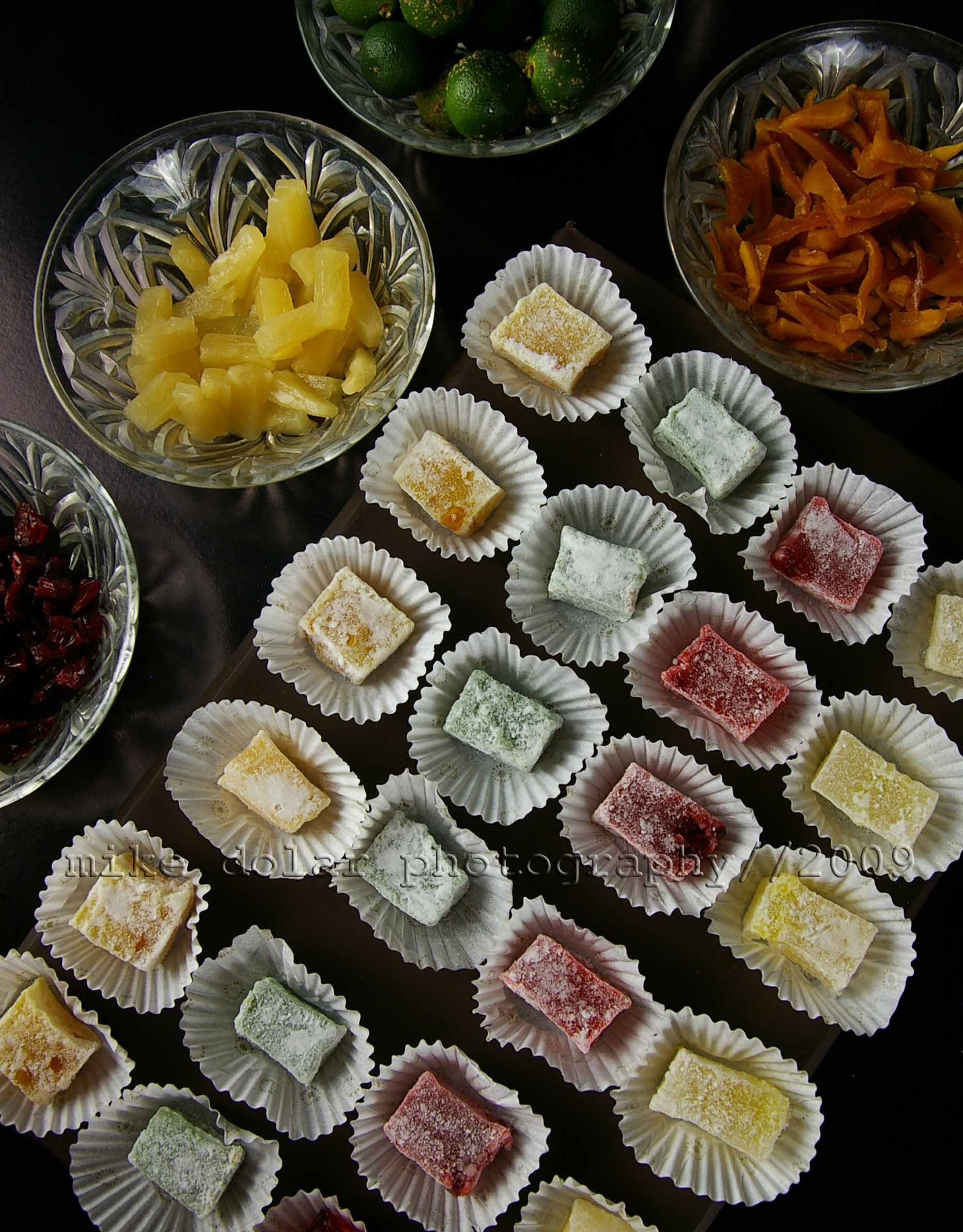 candied fruit delights by ted's temptations