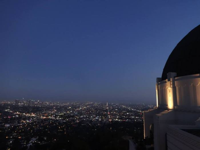 LA from Griffith Observatory