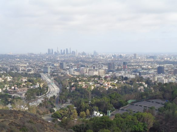 DTLA from the Hollywood Bowl Observatory