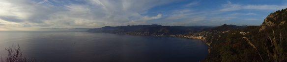 Il panorama dall'alto