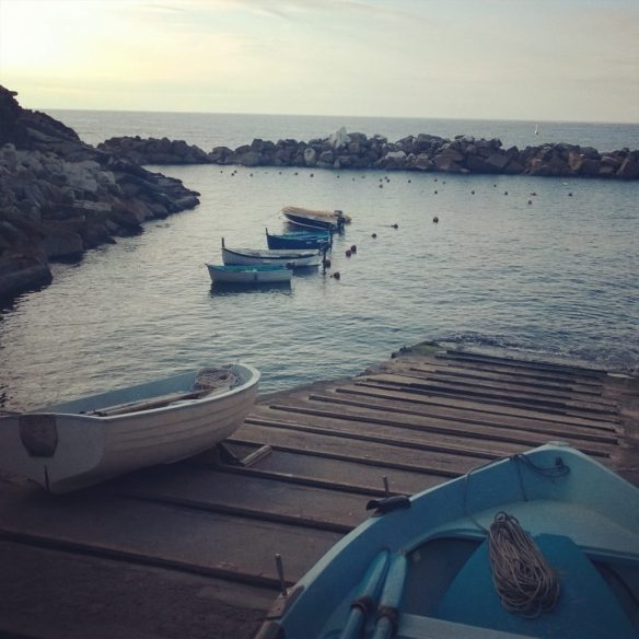 Barchette dei pescatori a Rio Maggiore