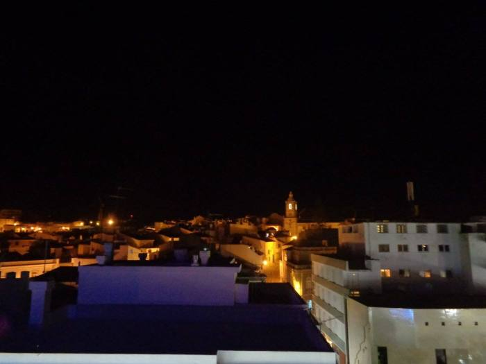 Lagos di notte