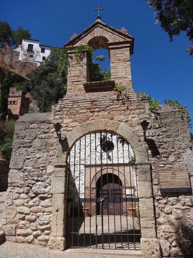 Ronda: resti di una chiesa