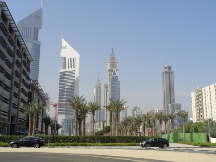 Dubai: zona World Trade Center