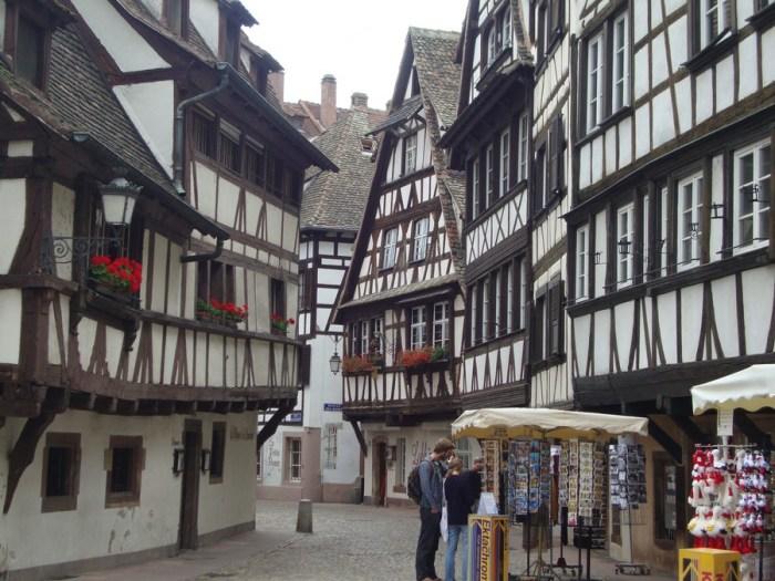 Strasburgo: l'interno della Petite France
