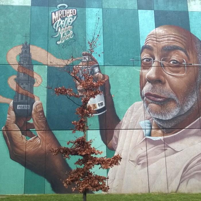 Porto murale Mr Dheo