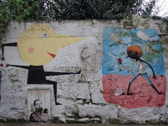 Street art - rua Miguel Bombarda