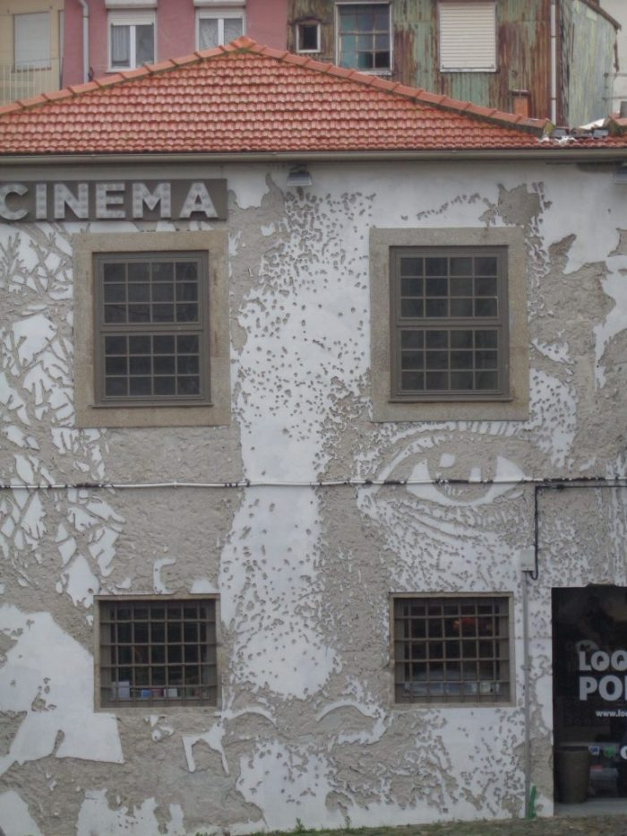 Look at Porto by Vhils