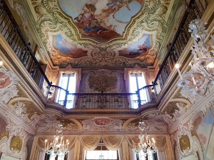 Villa Widmann - salone centrale