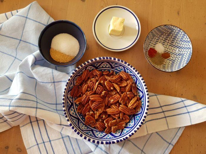 Sweet & Spicy Pecans: ingredienti