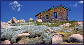 Seaman's Hut, Mt Kosciuszko, Nsw