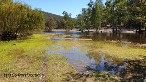 Bingara Camping area River
