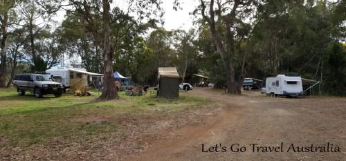 Sheba Dams Camping 2