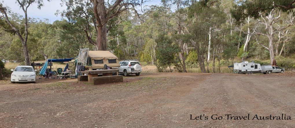 Sheba Dams Camping 4