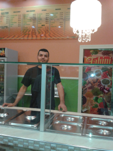 """Food Tourism; The little """"Arabian Place"""" at Price Plaza, Central Trinidad."""