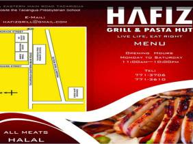 Hafiz Grill and Pasta Hut