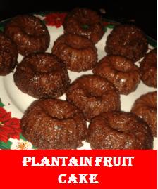 plantain fruit cake