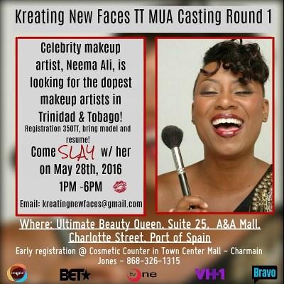 International Celebrity Beauty Expert, Neema Ali, Searches For The Caribbean's Next Millennial Makeup Artists