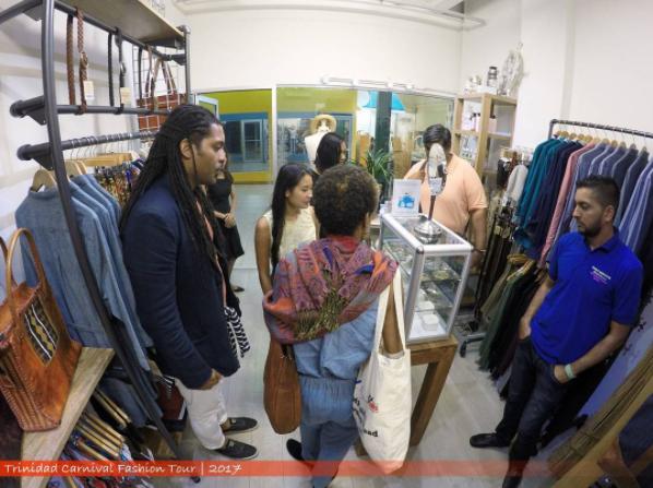 Patrons shop at Blue Basin Stores