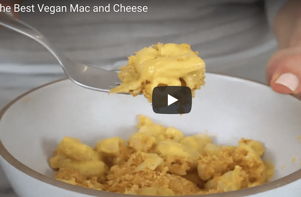 Vegan Mac + Cheese Recipe & Video