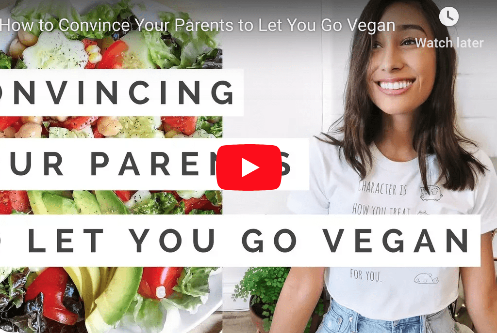 Convincing parents to let you go vegan by Lose your Veganity