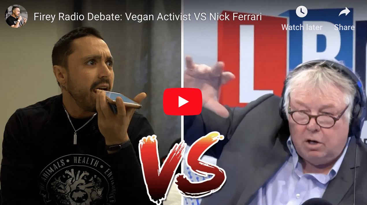 Joey Carbstrong debates radio host in a fiery exchange
