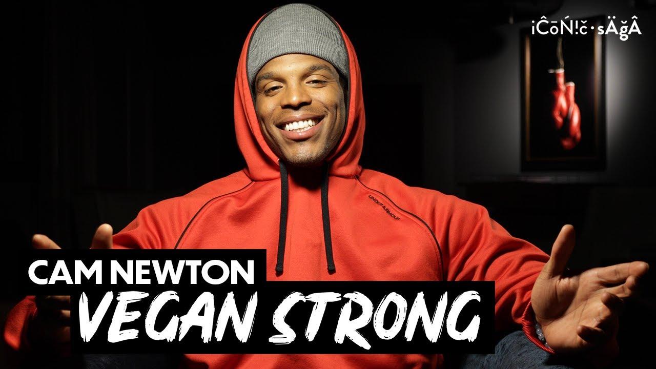 NFL Quarterback Cam Newton goes vegan for performance & recovery