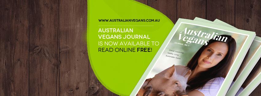This months FREE edition of Australian Vegans magazine