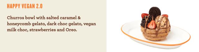 New vegan options at San Churro