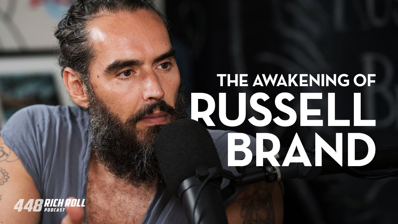 Russell Brand discusses veganism on Rich Roll's Podcast