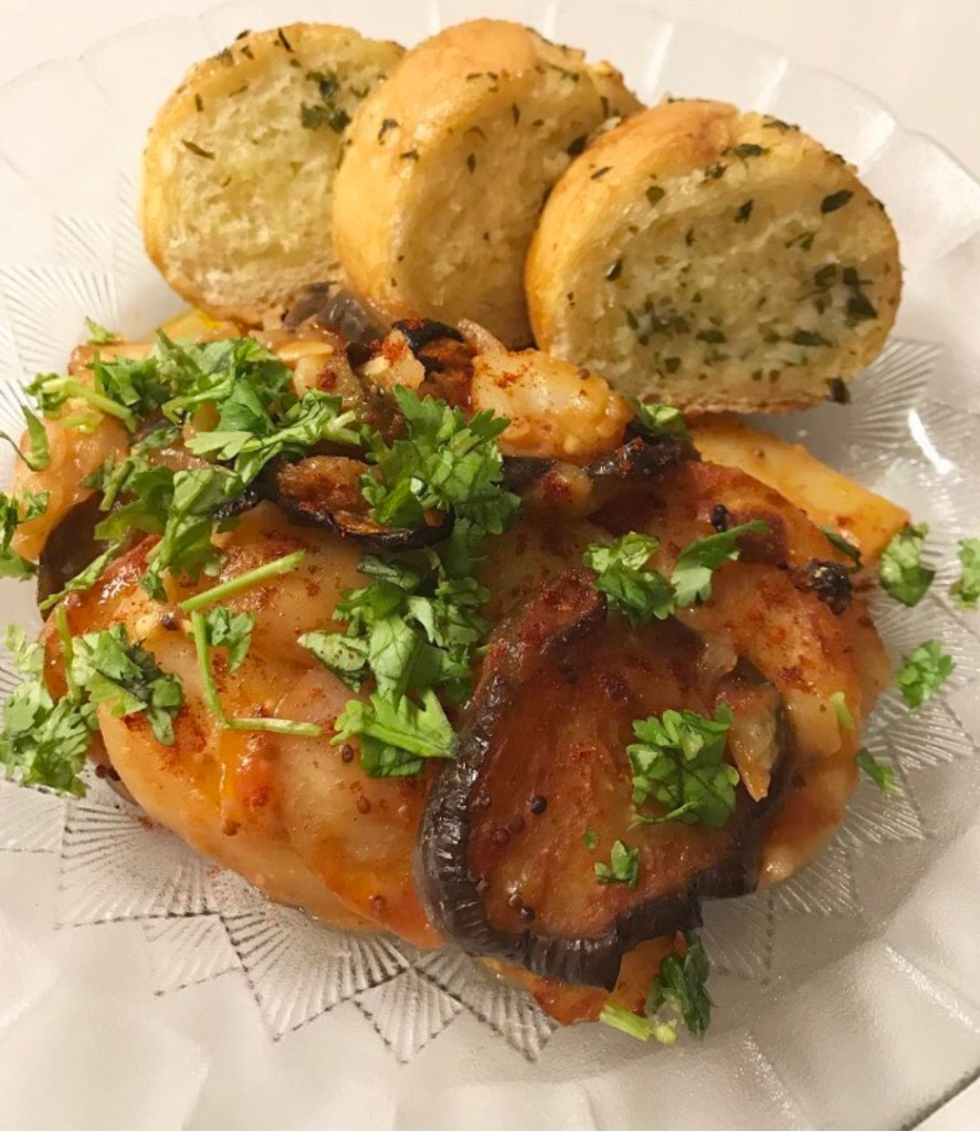 Eggplant Potato and Zucchini Bake