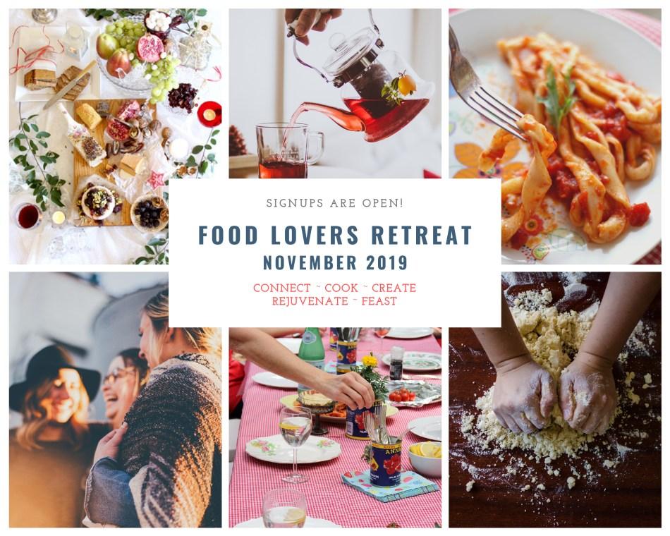 Vegan Italian Kitchen retreat photo