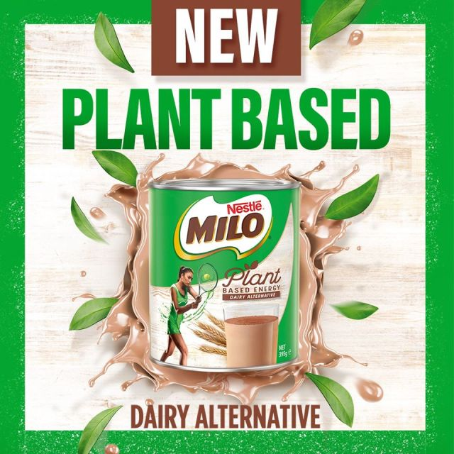 Vegan Milo has arrived down under