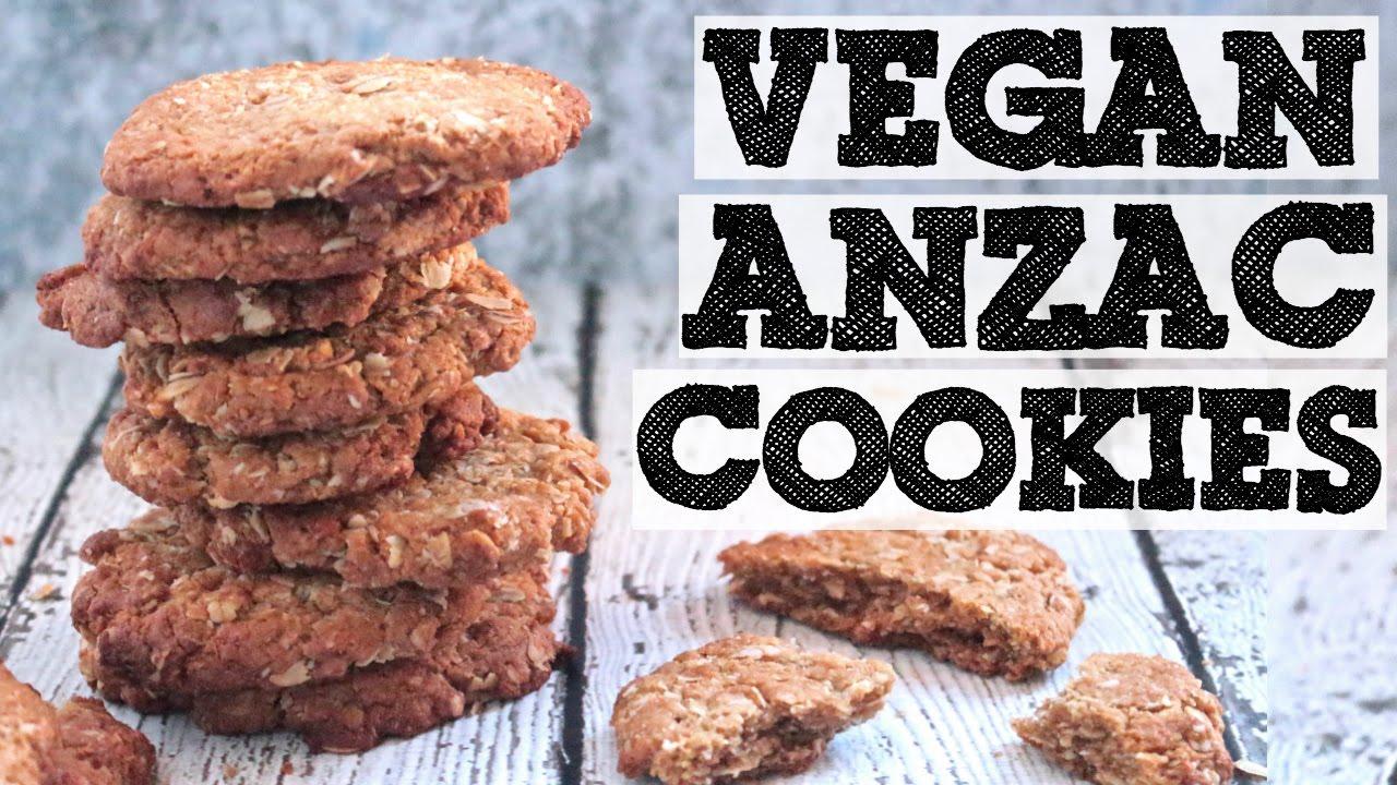 Delicious Vegan ANZAC Biscuit Recipes