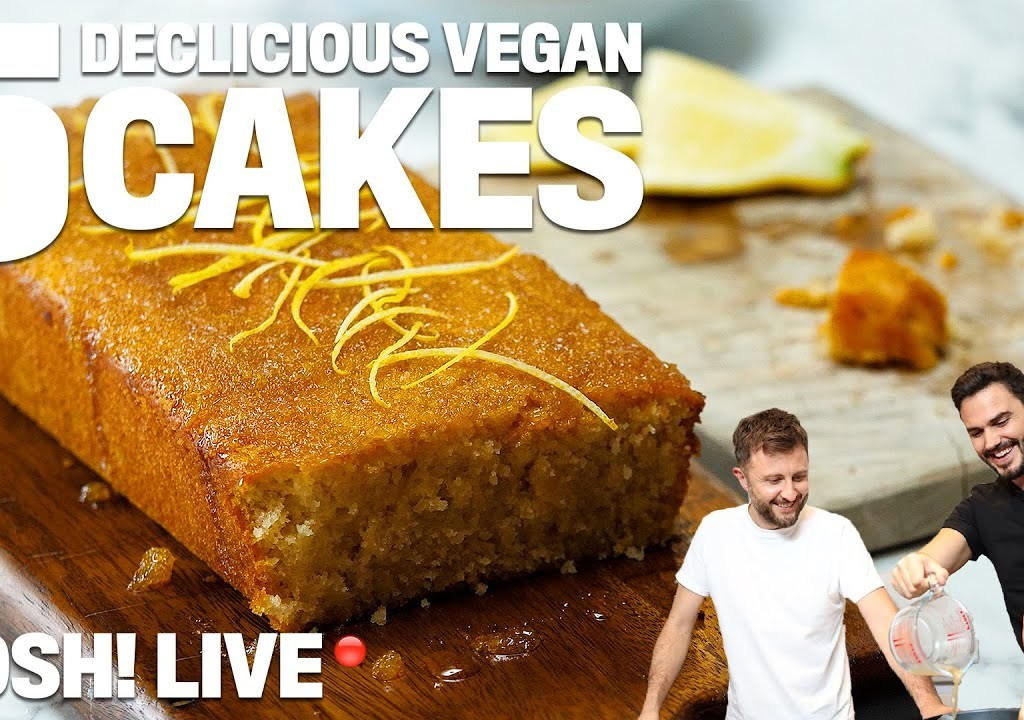 5 EASY VEGAN CAKES