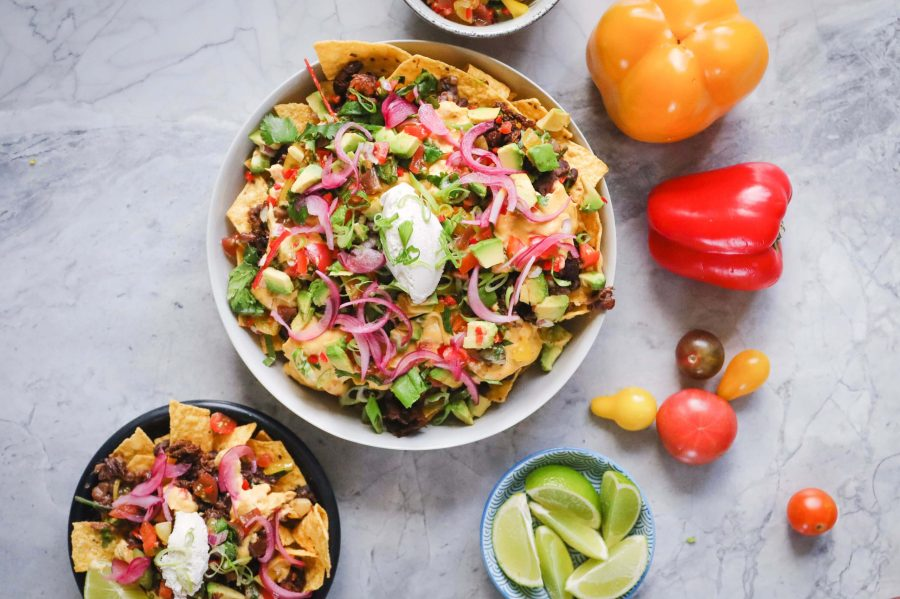 Fable Nachos with 'Not-cho' Cheese