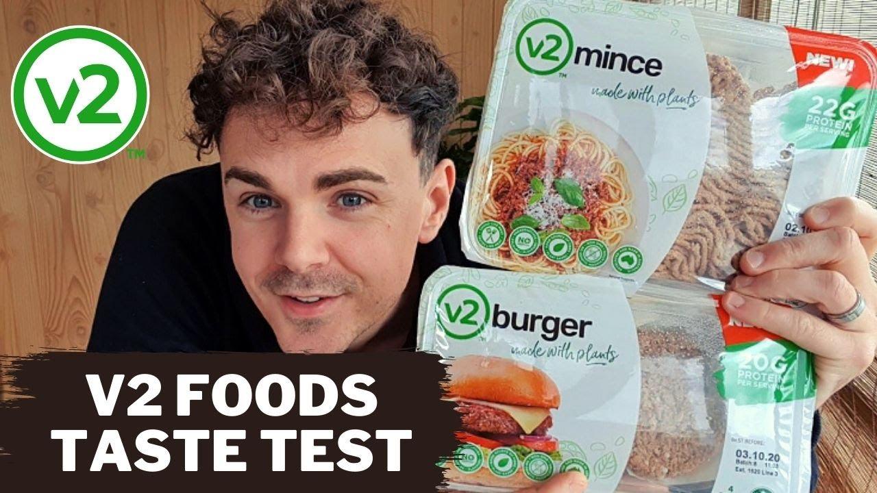 How to cook V2Food Plant Based Mince