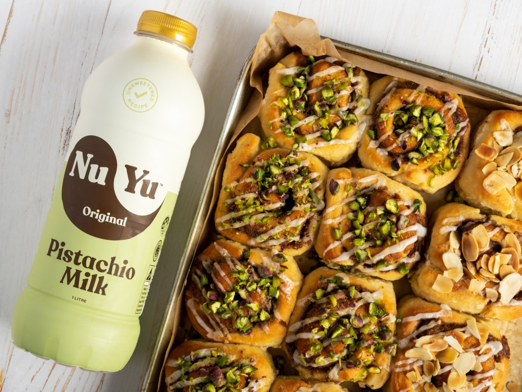 NUYU launch new plant based milk
