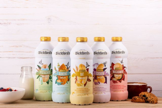 Bickford's Plant Based Milks