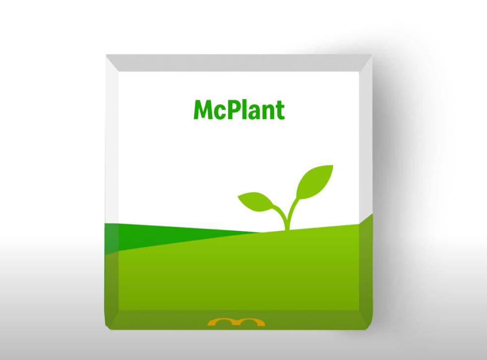 McDonalds announce McPlant for 2021