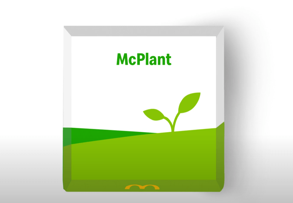 McDonalds announce McPlant for 2021